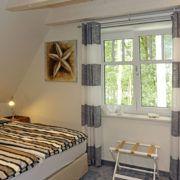Bonde Hus Schlafzimmer 1. OG mit Boxspringbett