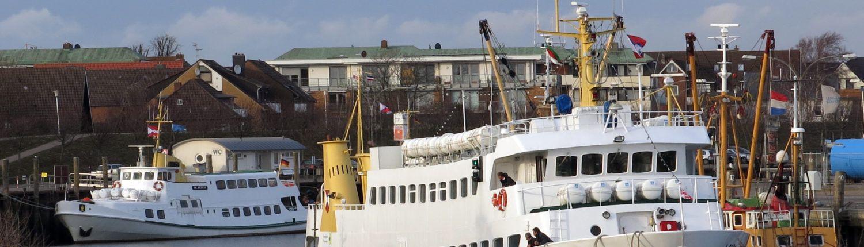 Buesum Hafen Schiff Lady von Buesum