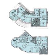 Grundriss Ferienhaus Gran Chalet